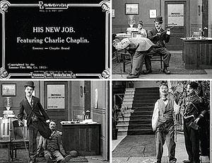 fotografía de la película His new job de 1915