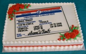 Medicare Premiums for 2013 Are Here! Celebrate with cake!