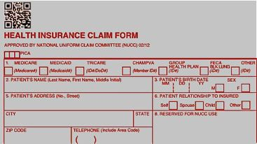 Printable CMS-1500 Claim Form
