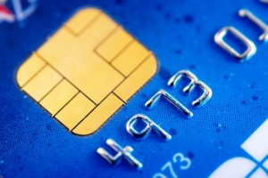 EMV Chip on a VISA Card